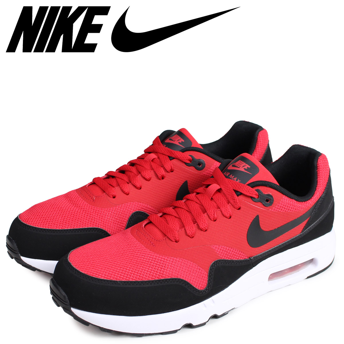 2784702a9cb NIKE Kie Ney AMAX 1 essential sneakers men AIR MAX 1 ULTRA 2.0 ESSENTIAL  red 875