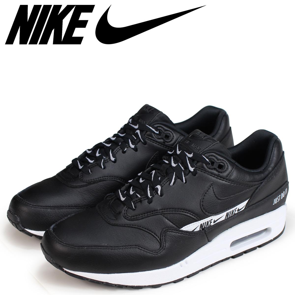 NIKE Kie Ney AMAX 1 sneakers men WMNS AIR MAX 1 SE 881,101 005 black black