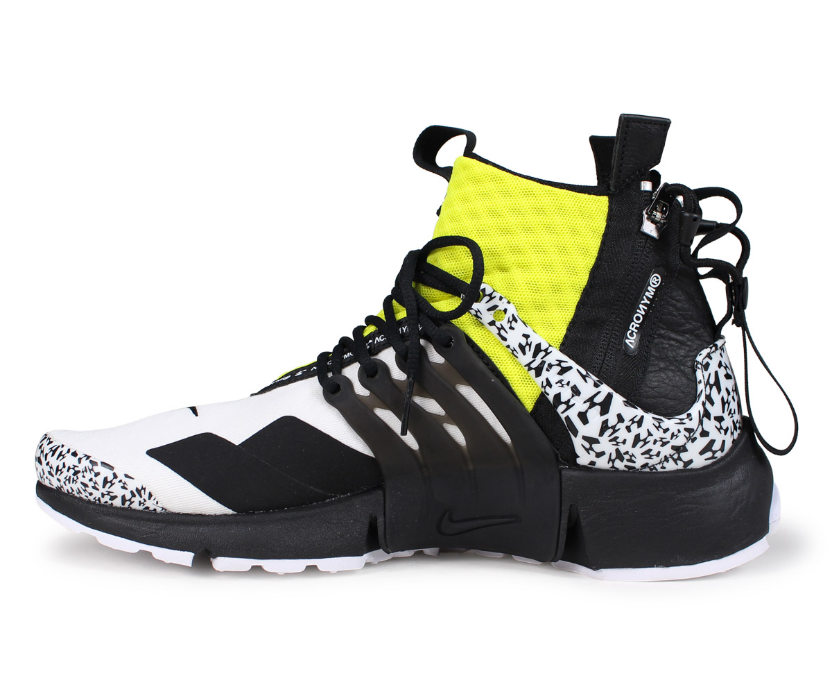 b5ade870bb ... NIKE Kie Ney apr strike sneakers men ACRONYM アクロニウム AIR PRESTO MID  AH7832-100 white ...