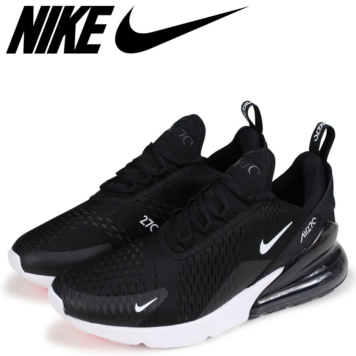 NIKE Kie Ney AMAX 270 sneakers men AIR MAX 270 AH8050 002 black black [the 816 additional arrival]