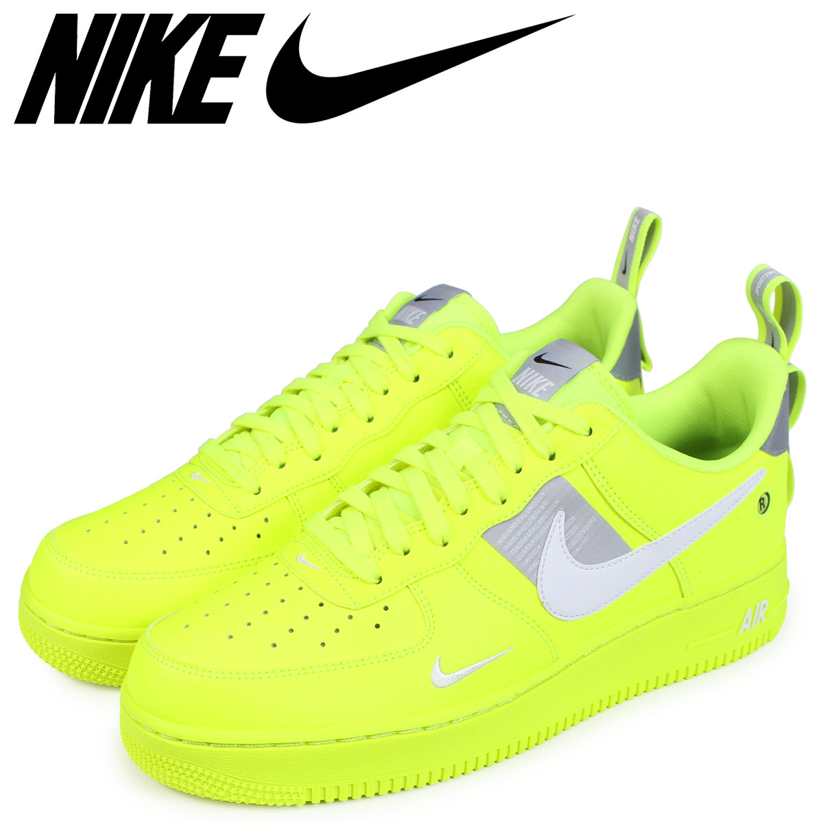 air force 1 verdi fluo