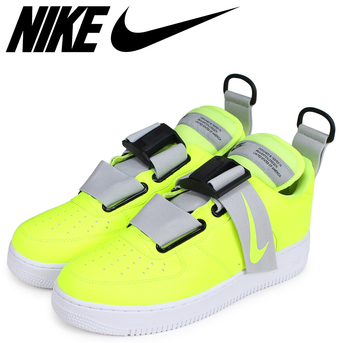 NIKE Nike air force 1 sneakers men AIR FORCE 1 UTILITY yellow AO1531 700