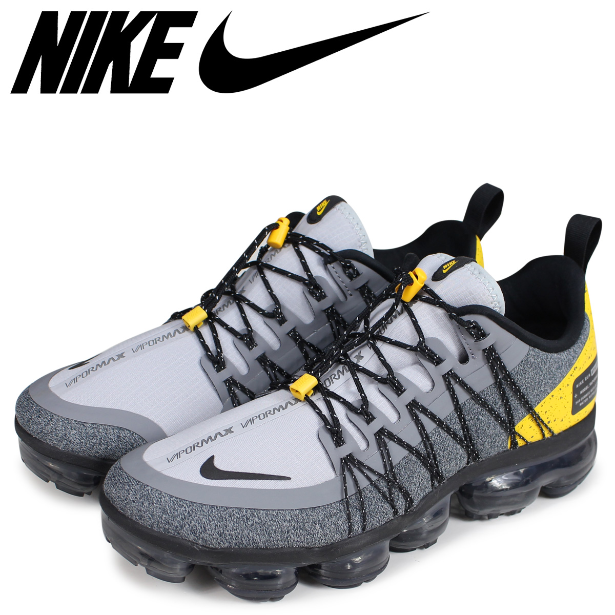 c8d3ba2c9b NIKE Nike air vapor max sneakers men AIR VAPORMAX RUN UTILITY gray AQ8810- 010 ...
