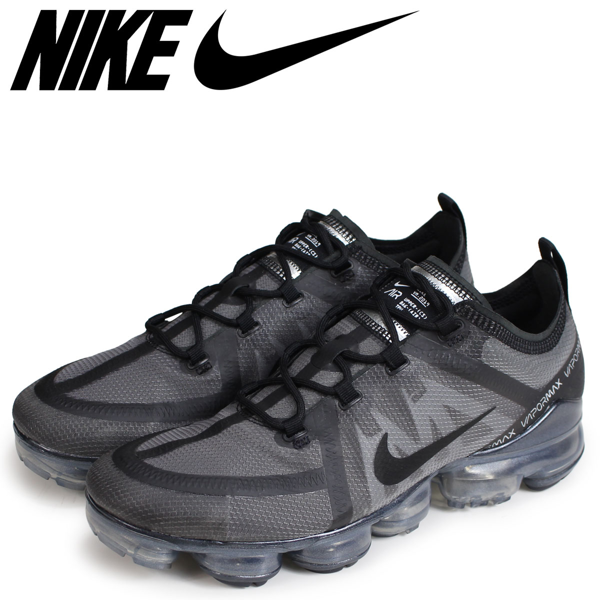 3874dd6961a078 NIKE Nike air vapor max 2019 sneakers men AIR VAPORMAX 2019 black AR6631-004   load planned Shinnyu load in reservation product 1 30 containing