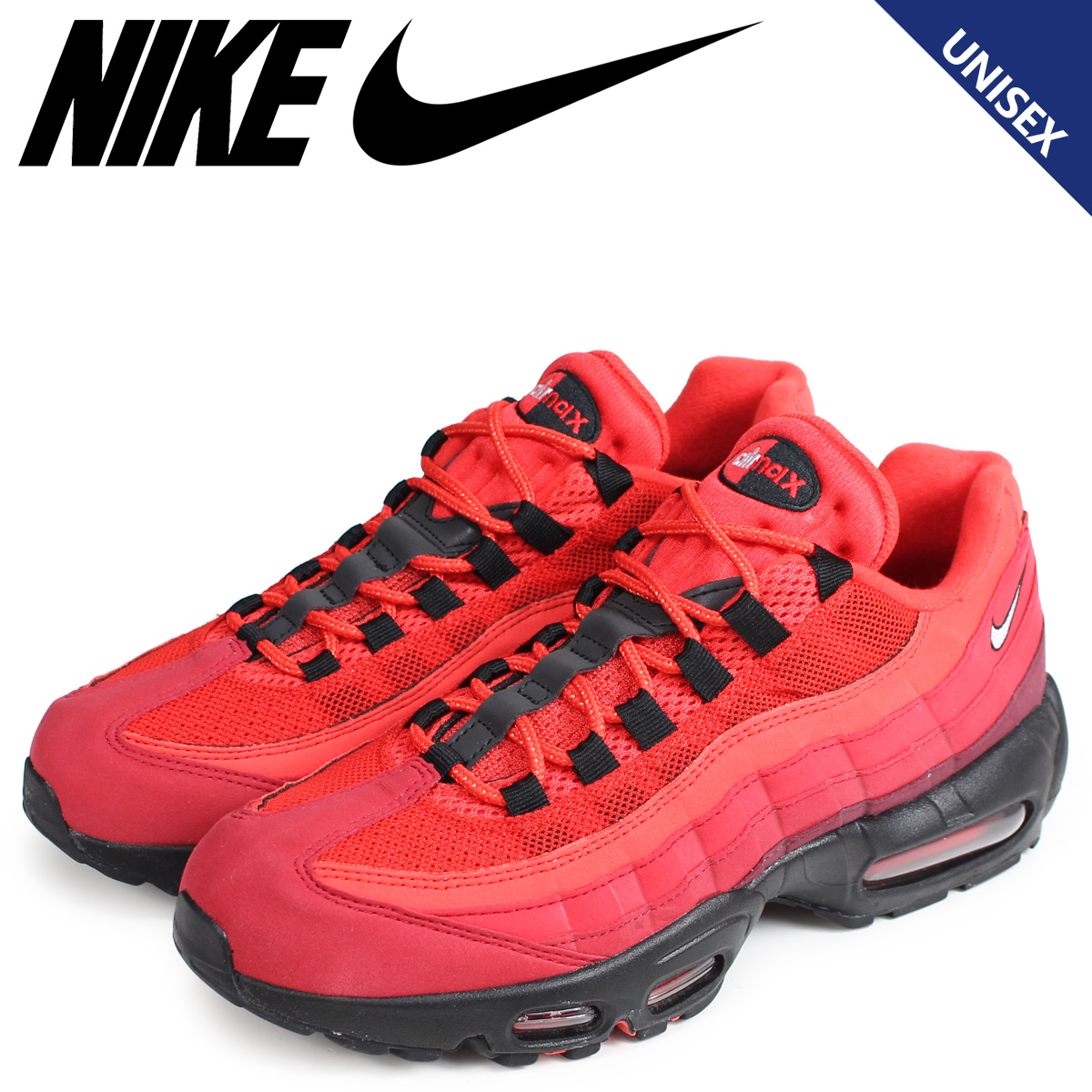best sneakers ea335 ac739 NIKE Kie Ney AMAX 95 sneakers men gap Dis AIR MAX 95 OG red red AT2865-600  [the 8/23 additional arrival]