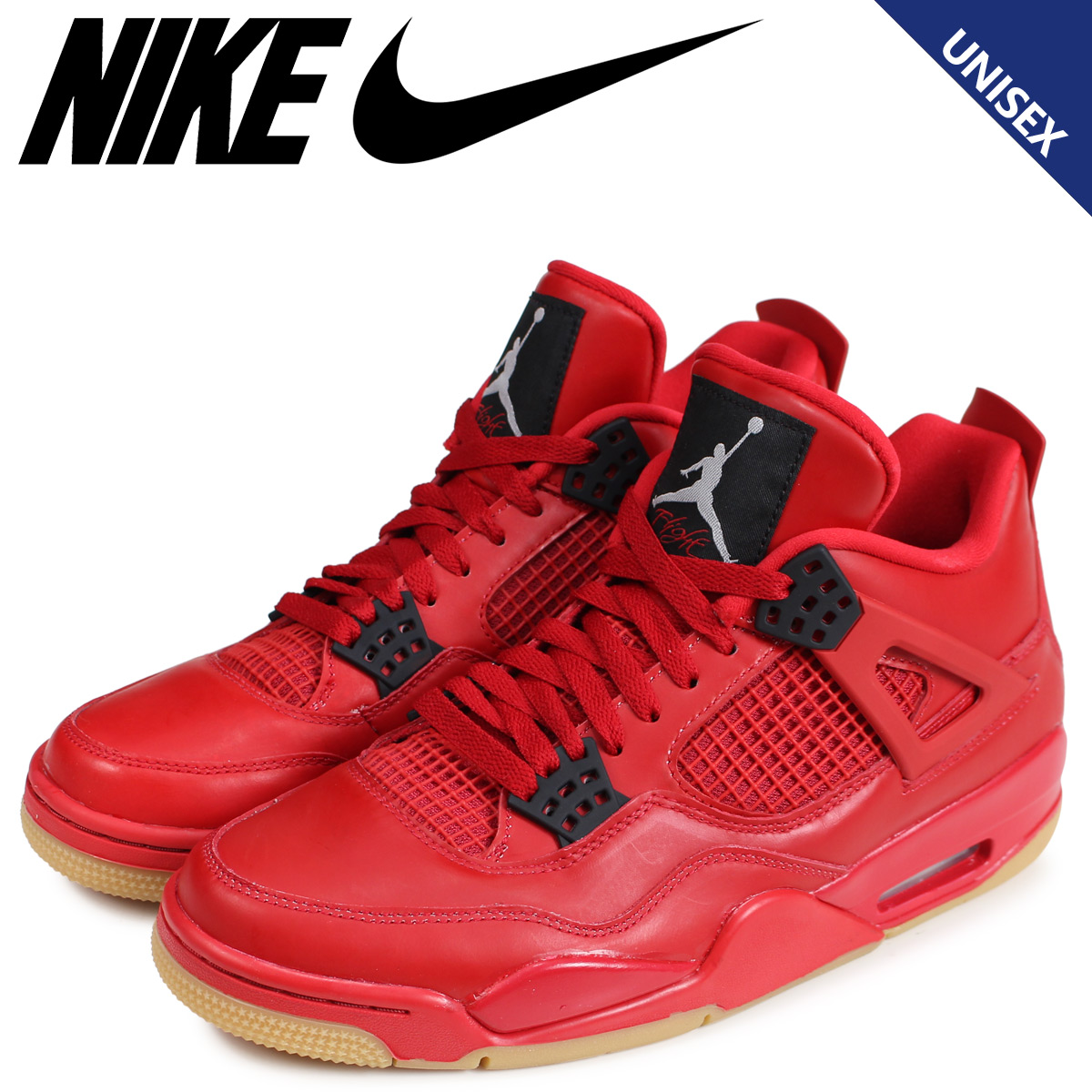 3ffb5189bd4c NIKE Nike Air Jordan 4 nostalgic sneakers Lady s men WMNS AIR JORDAN 4  RETRO NRG SINGLES DAY red AV3914-600  load planned Shinnyu load in  reservation ...