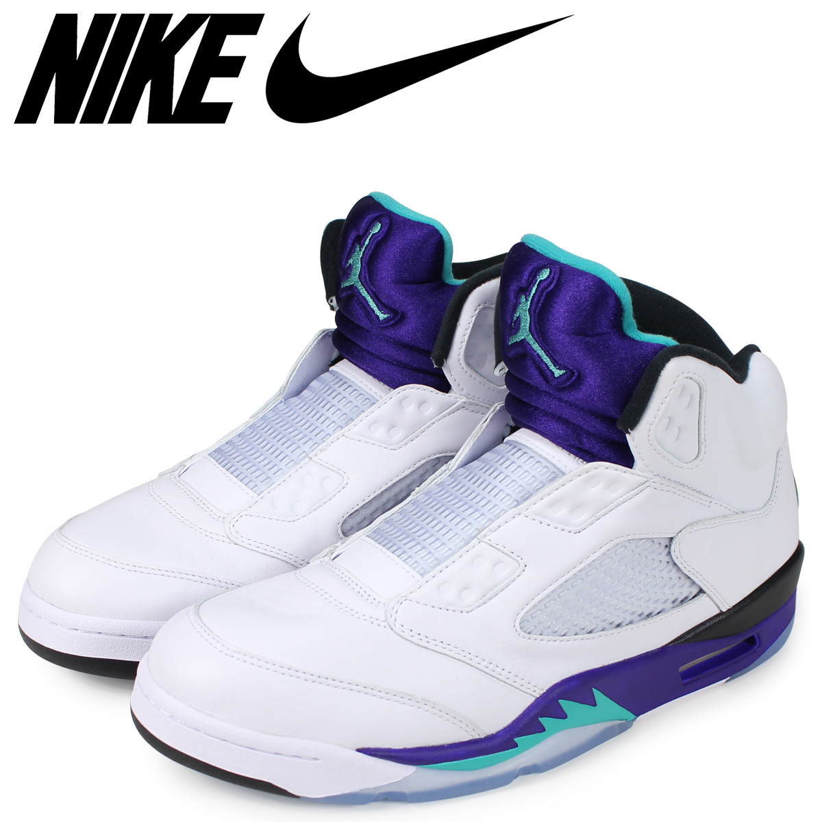 e42d8cfb28d6 NIKE Nike Air Jordan 5 nostalgic sneakers men AIR JORDAN 5 RETRO NRG FRESH  PRINCE grape AV3919-135  load planned Shinnyu load in reservation product  11 19 ...