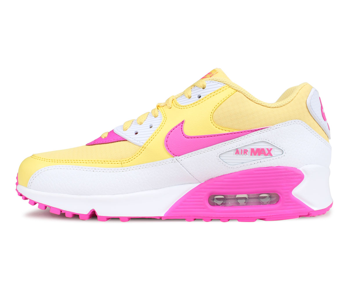 bbd17b5ab1 ... NIKE Kie Ney AMAX 90 sneakers men gap Dis WMNS AIR MAX 90 yellow 325,213-  ...
