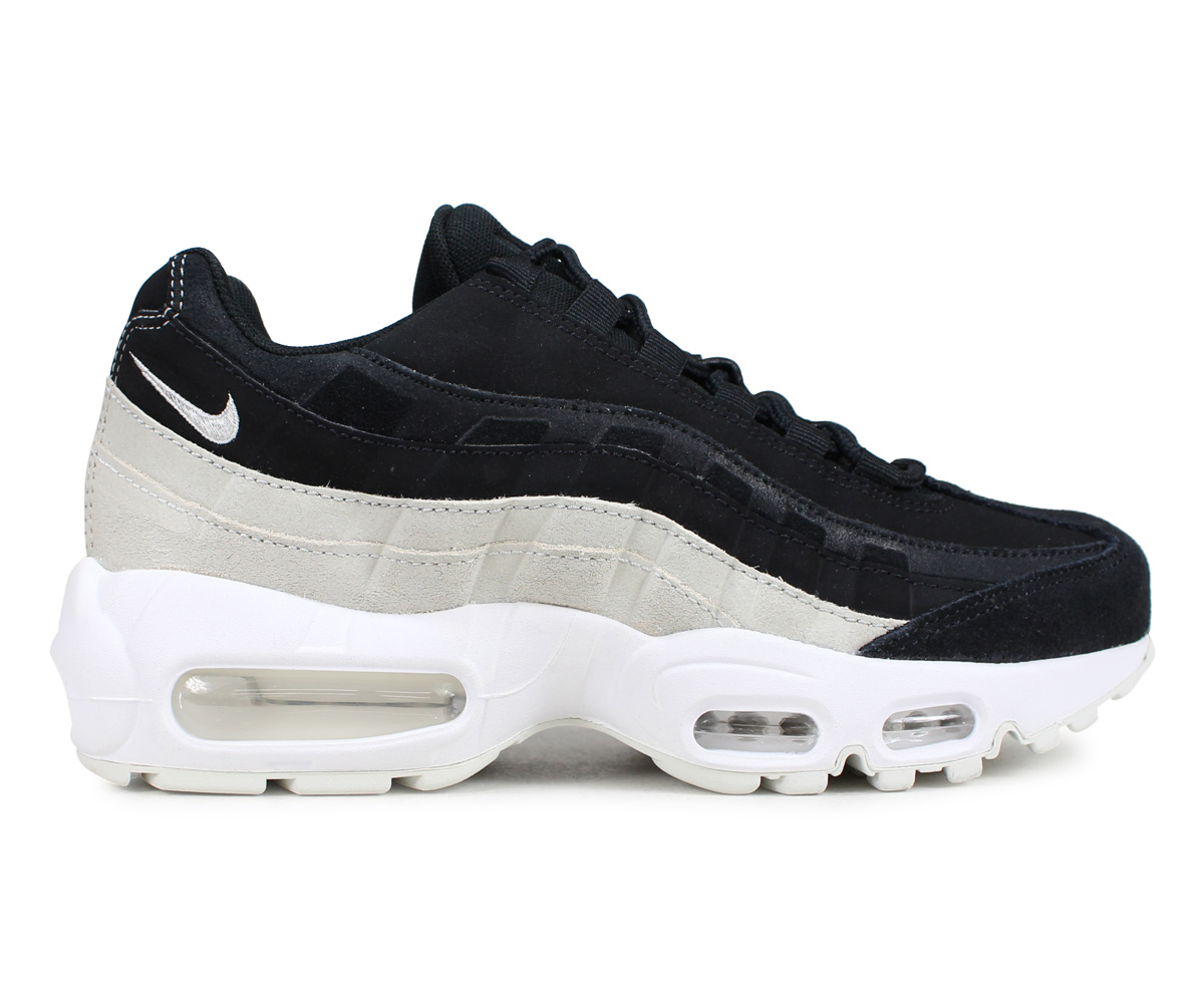 NIKE Kie Ney AMAX 95 sneakers Lady's men WMNS AIR MAX 95 PREMIUM black black 807,443 017