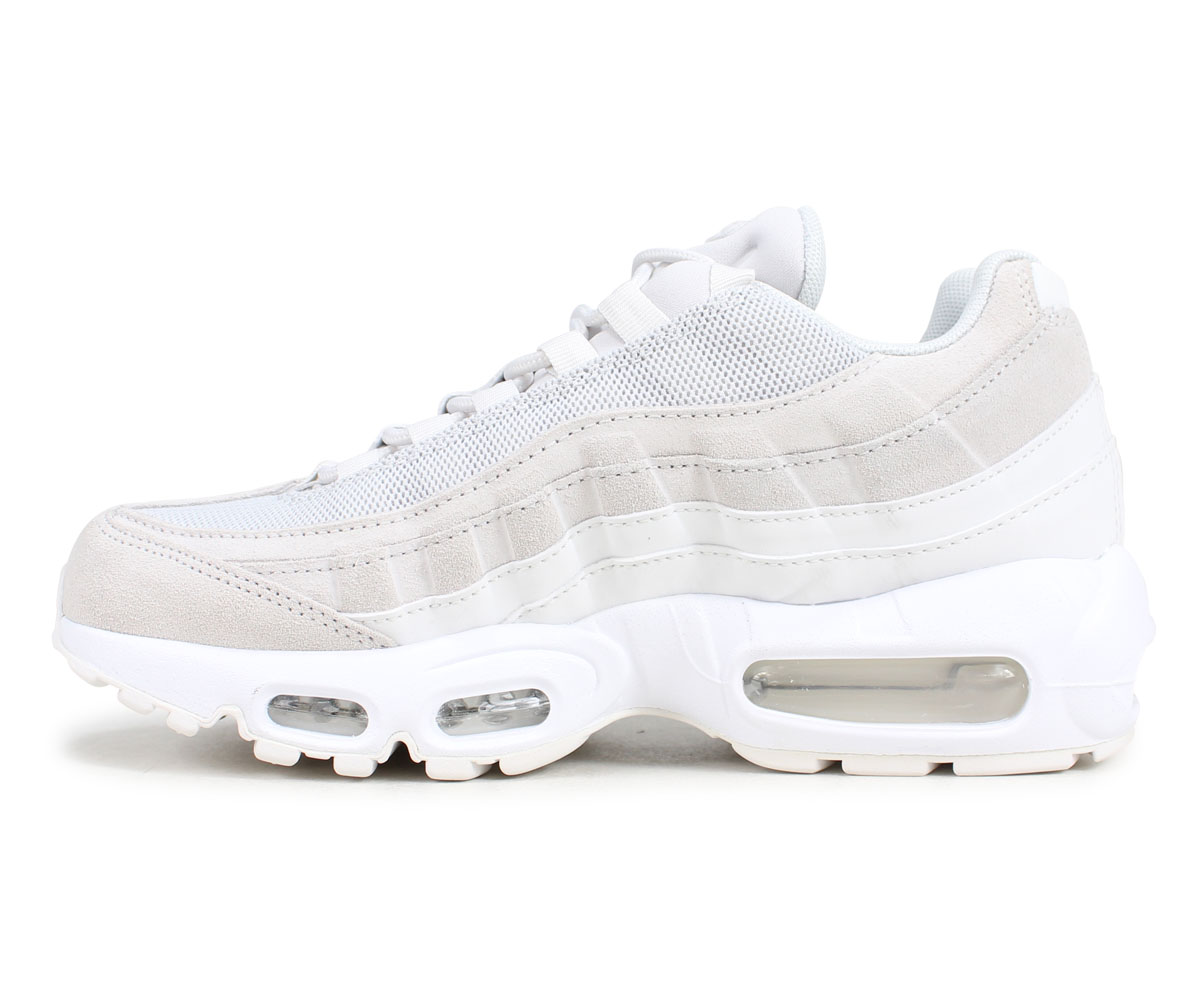 NIKE Kie Ney AMAX 95 sneakers men gap Dis WMNS AIR MAX 95 PREMIUM white white 807,443 018