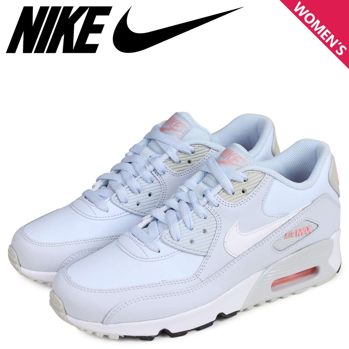 Buy Online Nike Air Max 90 Classic Jeans Womens Pink Grey
