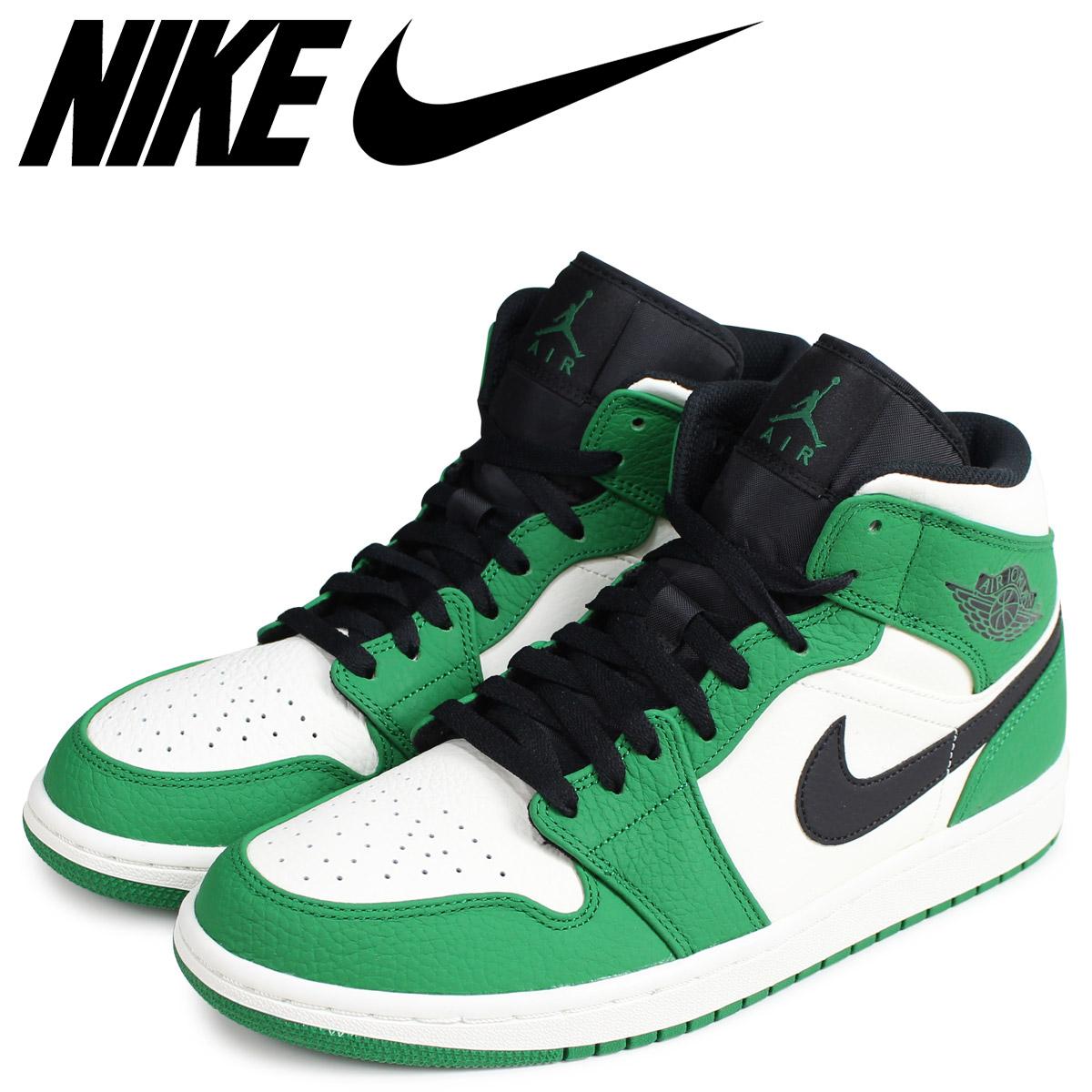 separation shoes 3c9db dbe11 NIKE Nike Air Jordan 1 sneakers men AIR JORDAN 1 MID SE green 852,542-301   2 25 Shinnyu load