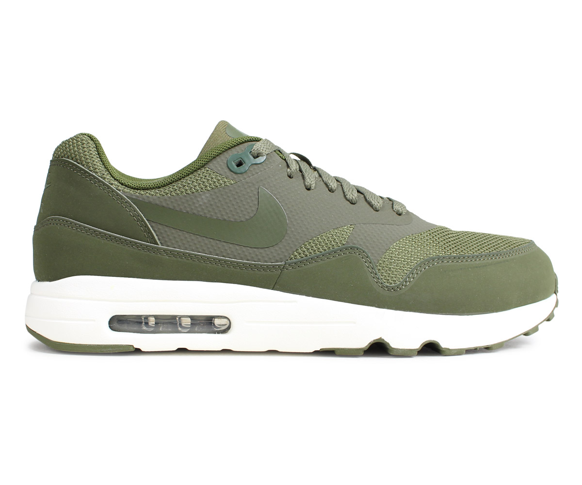 NIKE AIR MAX 1 ULTRA 2.0 ESSENTIAL Kie Ney AMAX 1 essential sneakers men olive 875,679 200