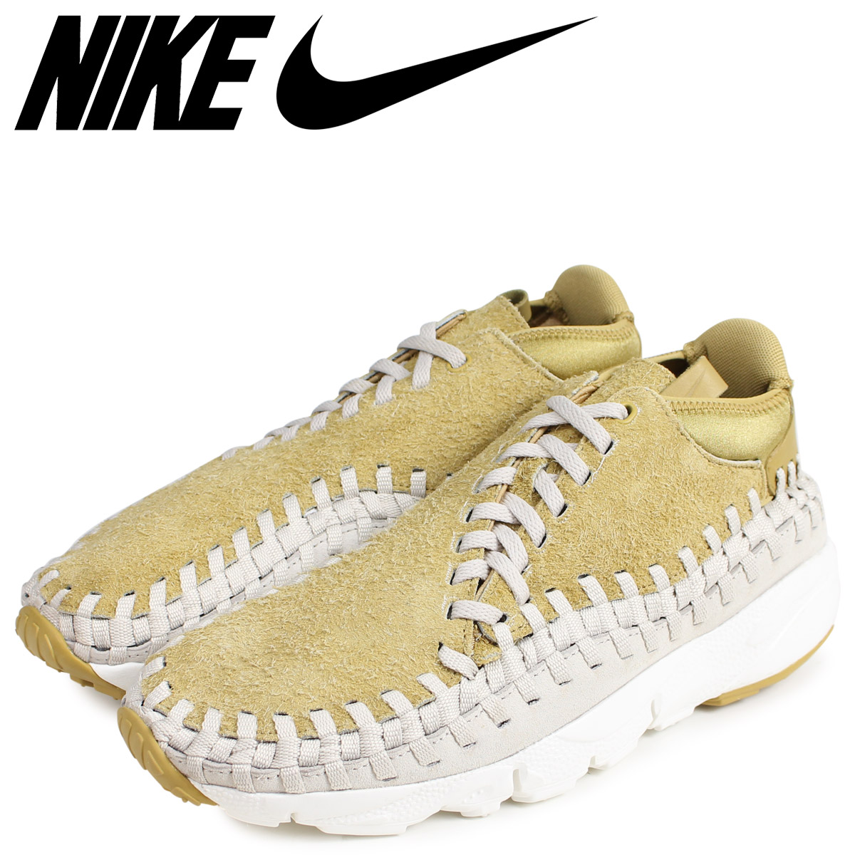 brand new 17a20 5c47e NIKE Nike air feet cape Woo sneakers men AIR FOOTSCAPE WOVEN CHUKKA QS  brown 913,929-700  load planned Shinnyu load in reservation product 2 27  containing