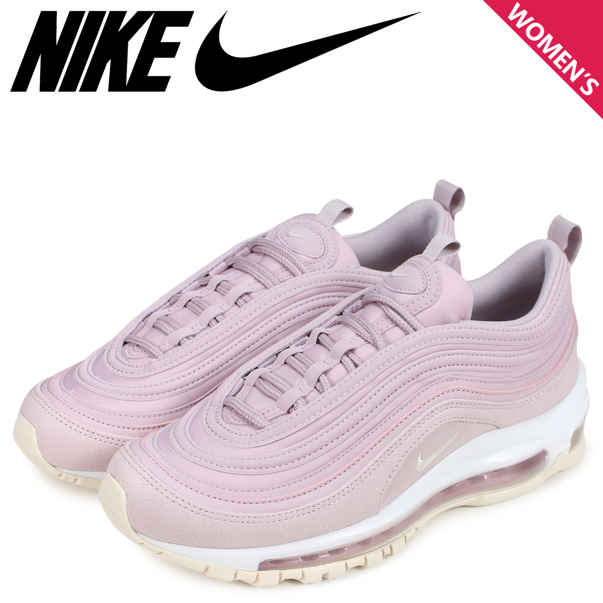 NIKE Kie Ney AMAX 97 sneakers Lady's WMNS AIR MAX 97 PREMIUM pink 917,646 500