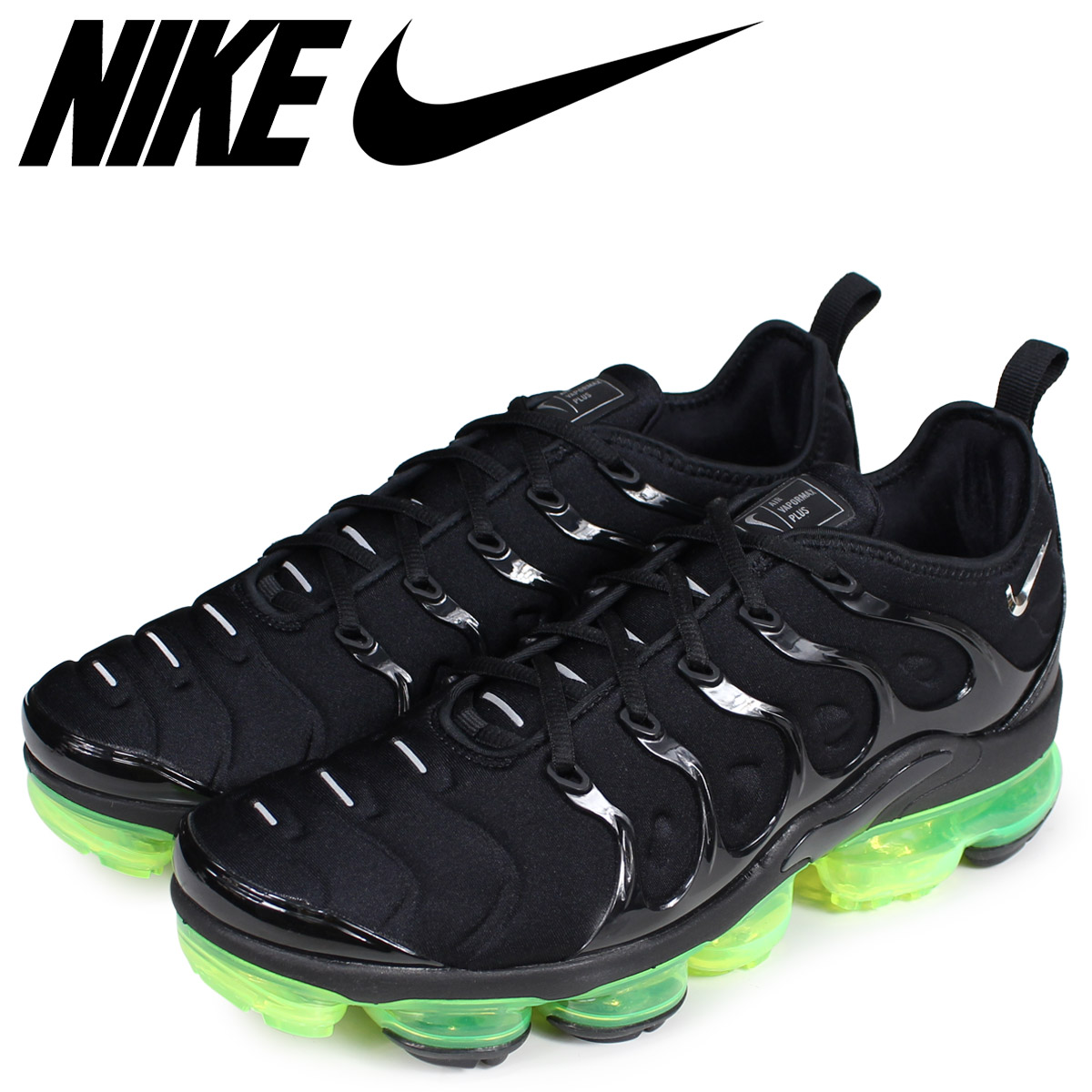7c97db887ed NIKE Nike vapor max plus sneakers men AIR VAPORMAX PLUS black 924