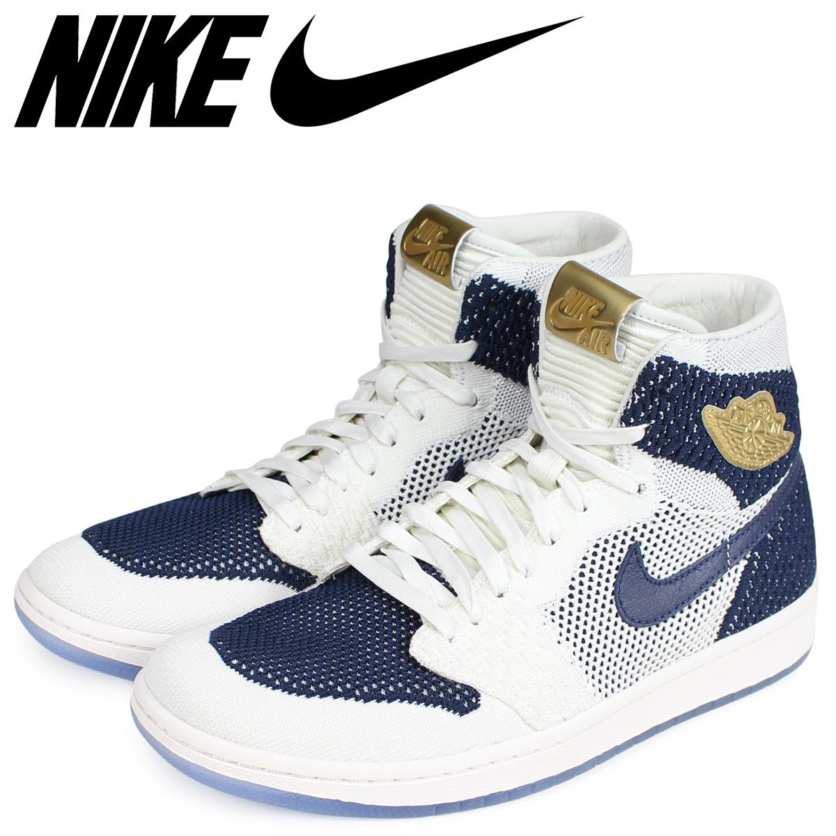 20448ccf511 NIKE Nike Air Jordan 1 nostalgic high sneakers men AIR JORDAN 1 RETRO HI  FLYKNIT JETER ...