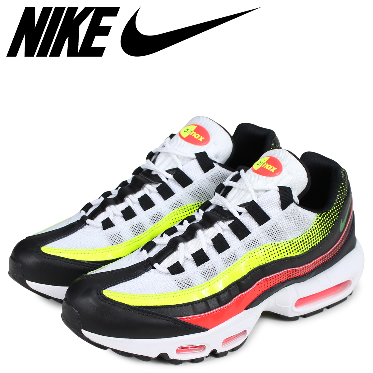 sale retailer 80749 9add3 NIKE Kie Ney AMAX 95 sneakers men AIR MAX 95 SE black black AJ2018-004   load planned Shinnyu load in reservation product 4 19 containing