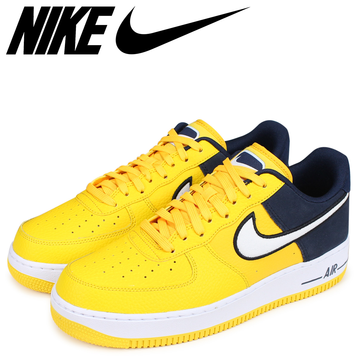 NIKE Nike air force 1 sneakers men AIR FORCE 1 07 LV8 yellow AO2439 700