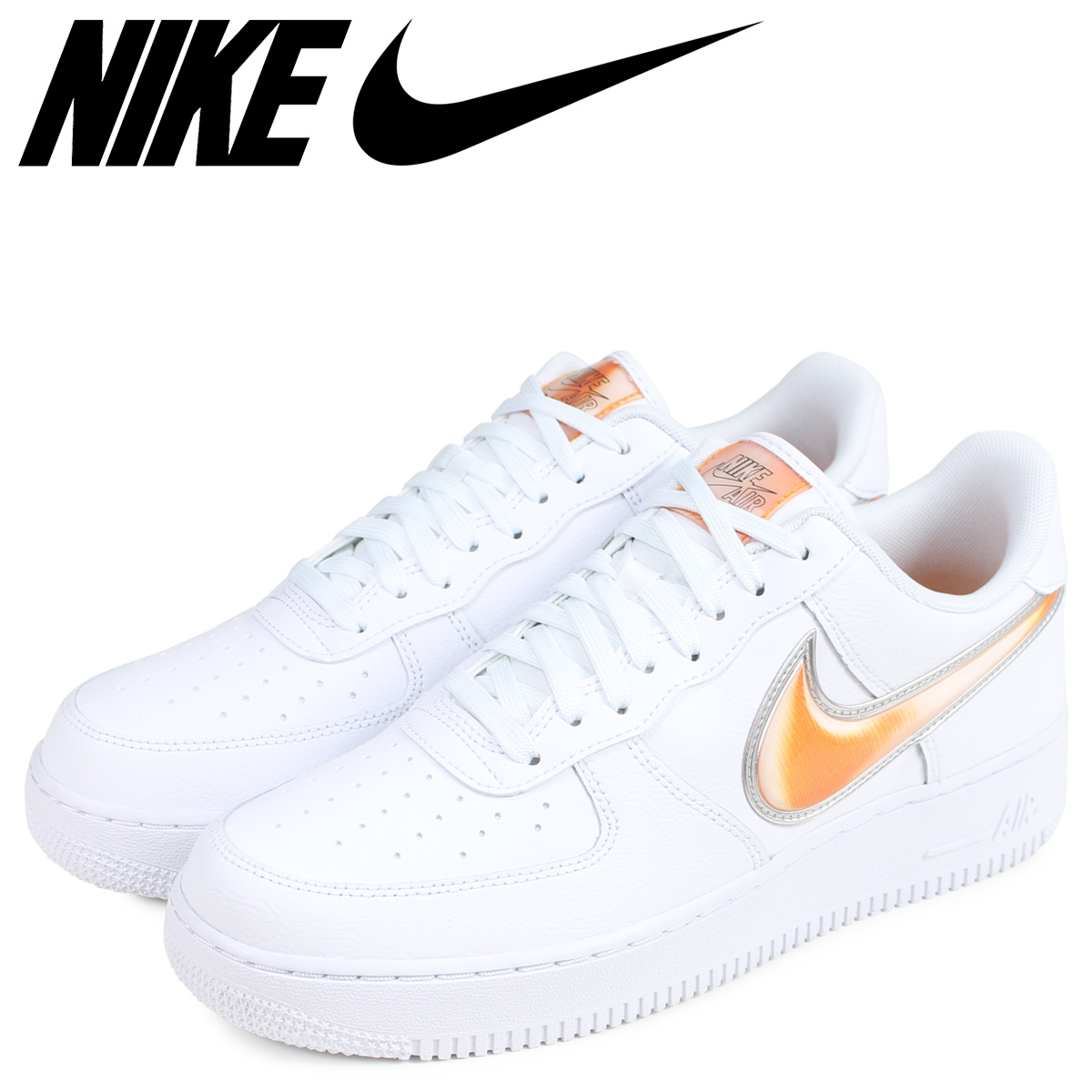 NIKE Nike air force 1 sneakers men AIR FORCE 1 07 LV8 3 white white AO2441 102