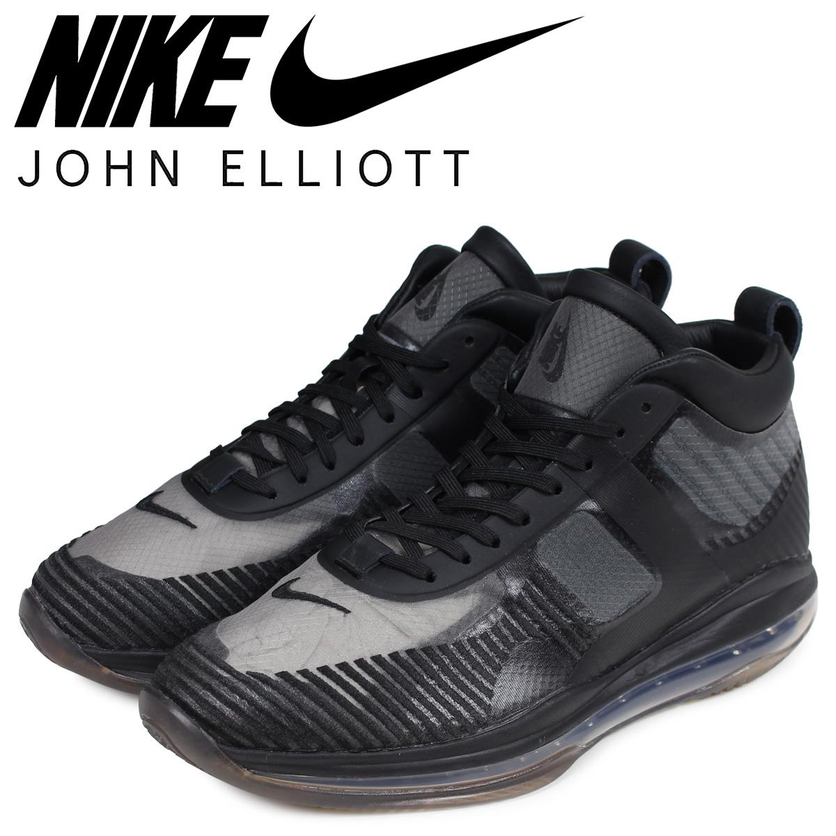 NIKE ナイキ レブロン 10 スニーカー メンズ ジョン エリオット JOHN ELLIOTT LEBRON 10 JE ICON コラボ ブラック 黒 AQ0114-001