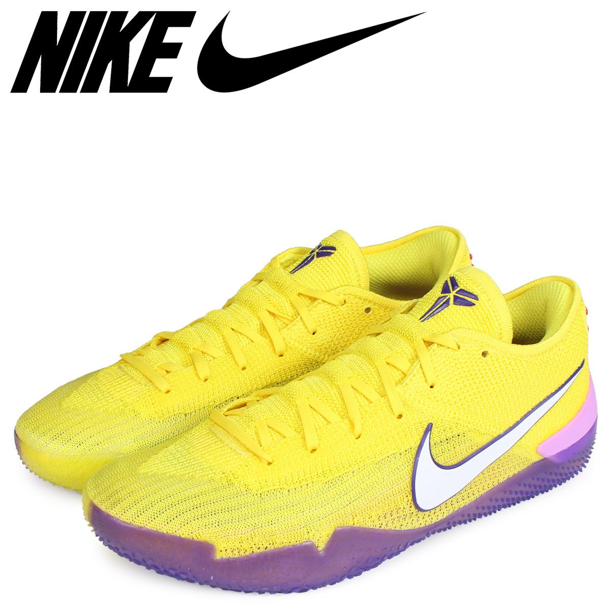 NIKE ナイキ コービー スニーカー メンズ KOBE NXT 360 Lakers イエロー AQ1087-700