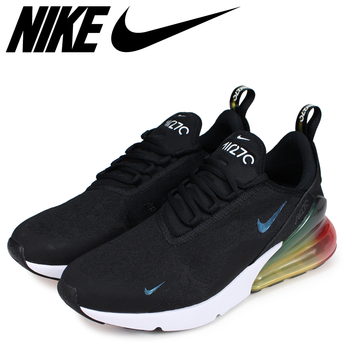 best sneakers be6f1 3c2ba NIKE Kie Ney AMAX 270 sneakers men AIR MAX 270 SE black black AQ9164-003 ...