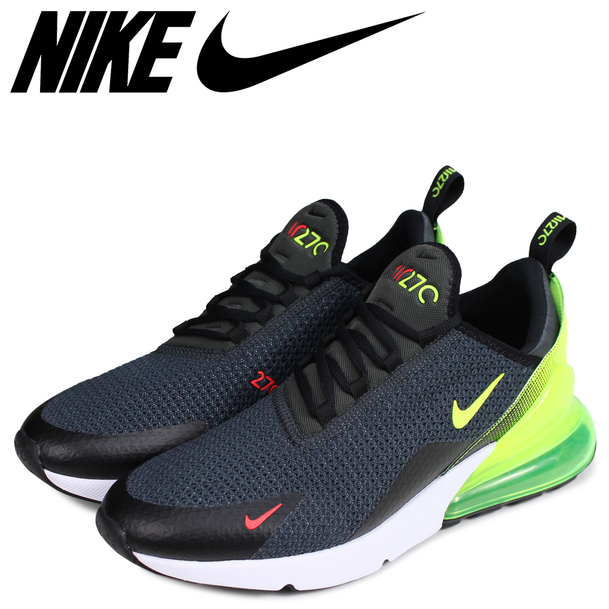 02e77fe16f NIKE Kie Ney AMAX 270 sneakers men AIR MAX 270 SE black black AQ9164-005 ...
