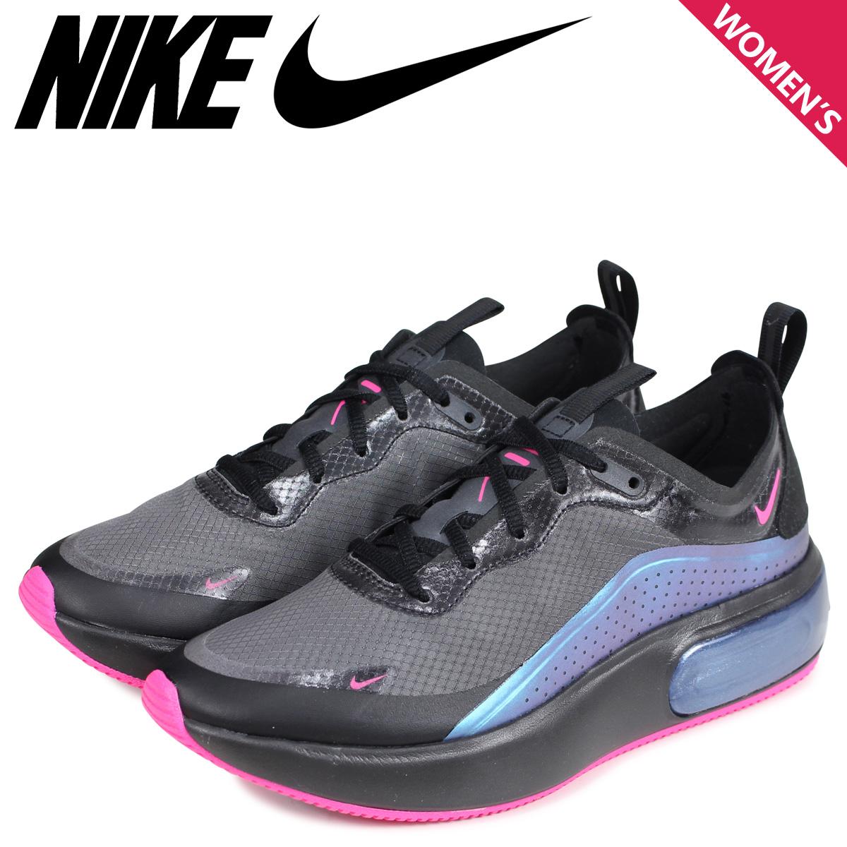 NIKE Kie Ney AMAX Deer sneakers Lady's WMNS AIR MAX DIA SE THROWBACK FUTURE black black AR7410 001
