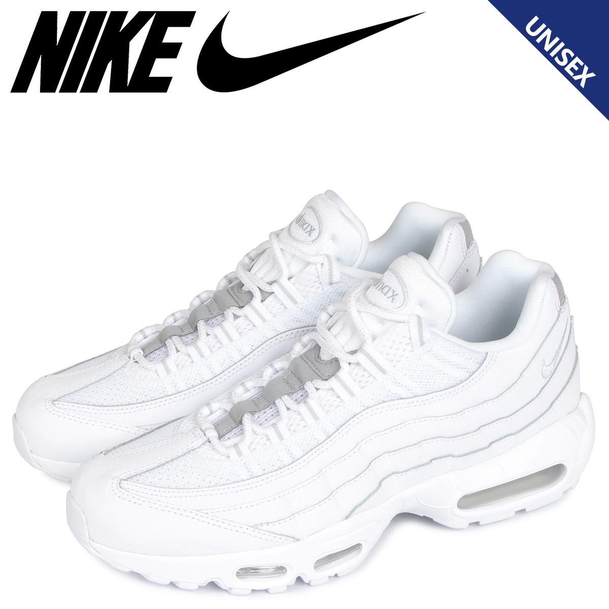 NIKE Kie Ney AMAX 95 essential sneakers men gap Dis AIR MAX 95 ESSENTIAL white white AT9865 100