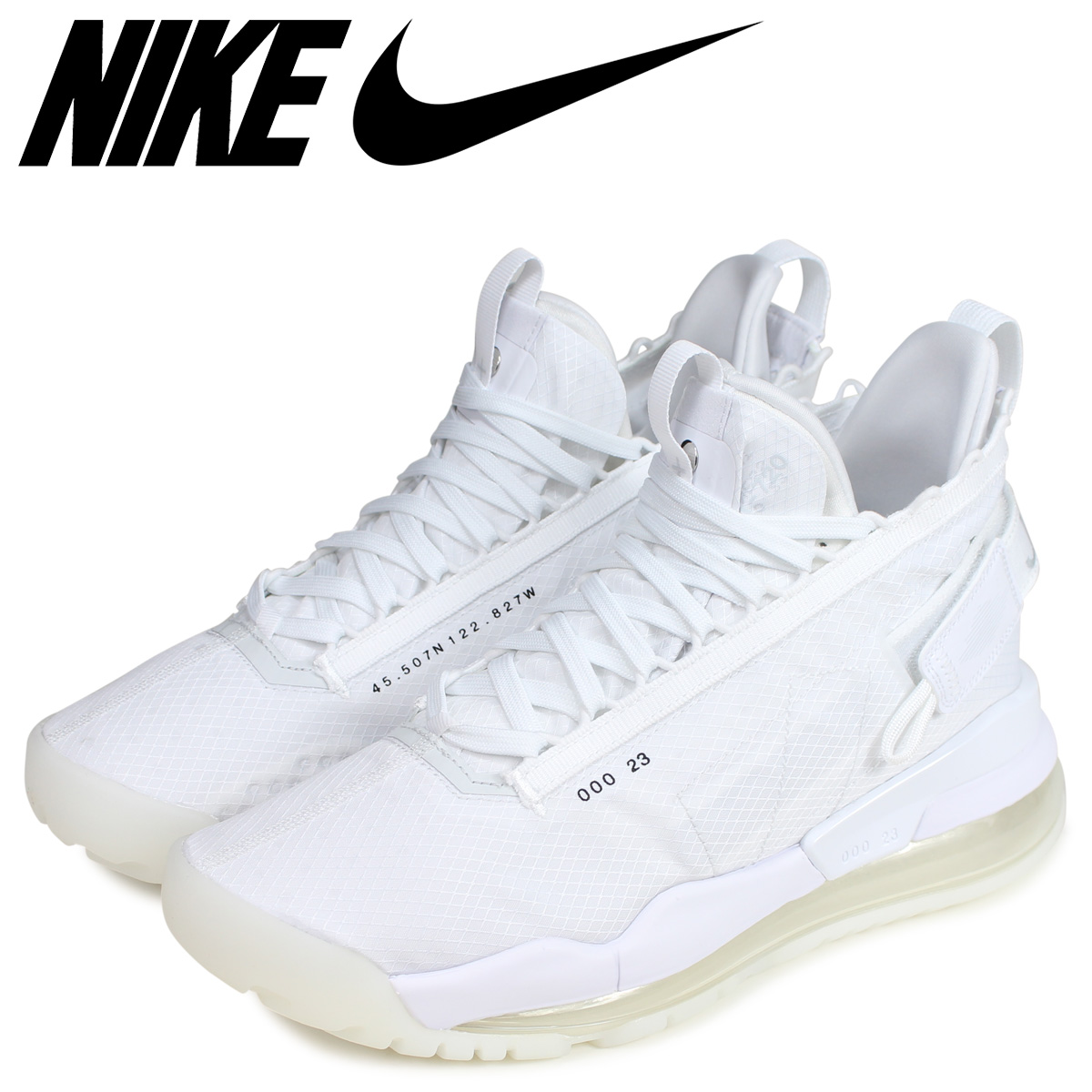 sale retailer 1d37f 559f8 NIKE Nike Jordan proto max 720 sneakers men JORDAN PROTO-MAX 720 white  white BQ6623-100  4 25 Shinnyu load