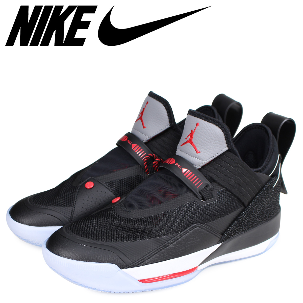 NIKE Nike Air Jordan 33 sneakers men AIR JORDAN 33 SE PF black black  CD9561-006
