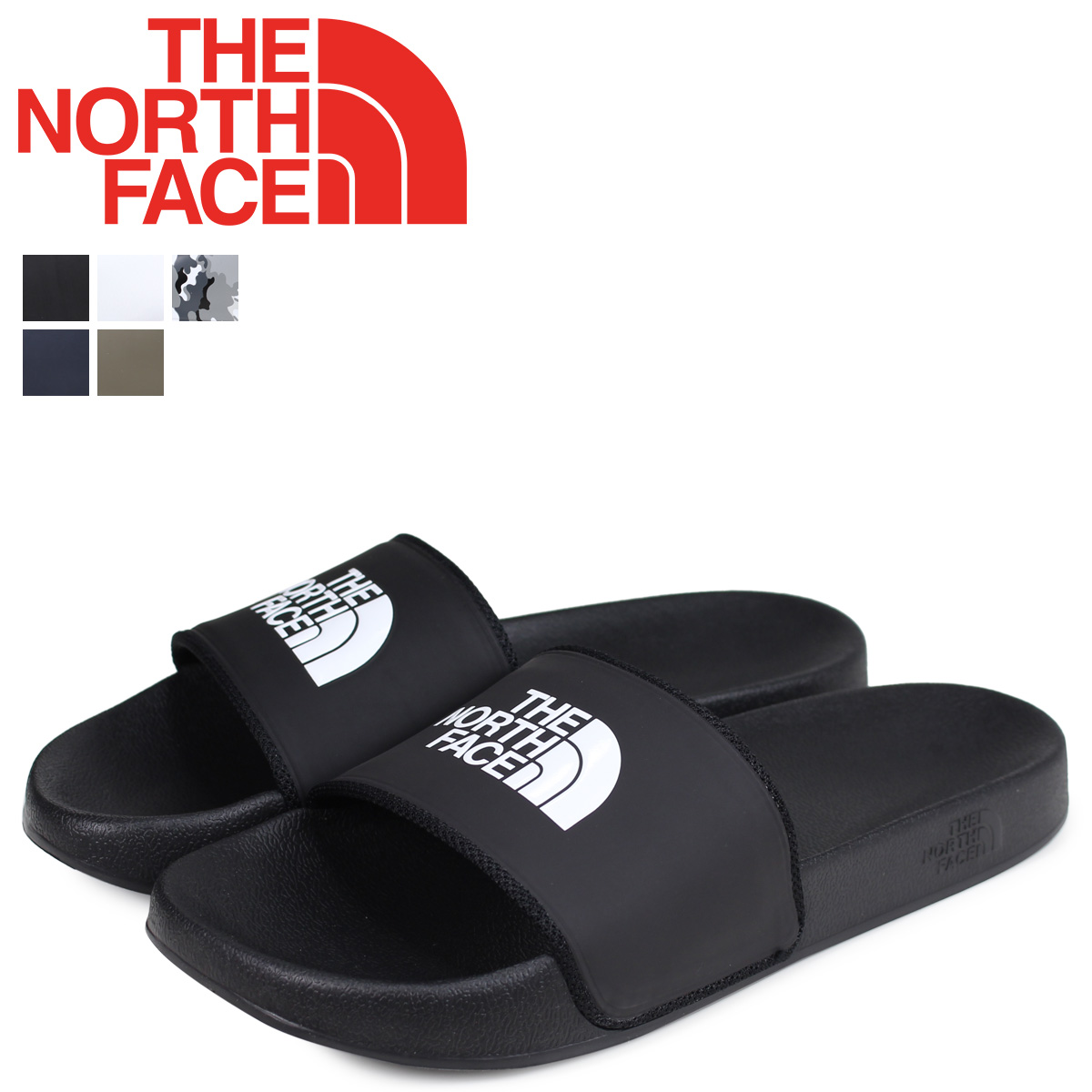 2632c0002 THE NORTH FACE North Face base camp sandals slide sandals men MENS BASE  CAMP SLIDE 2 NF0A3FWO