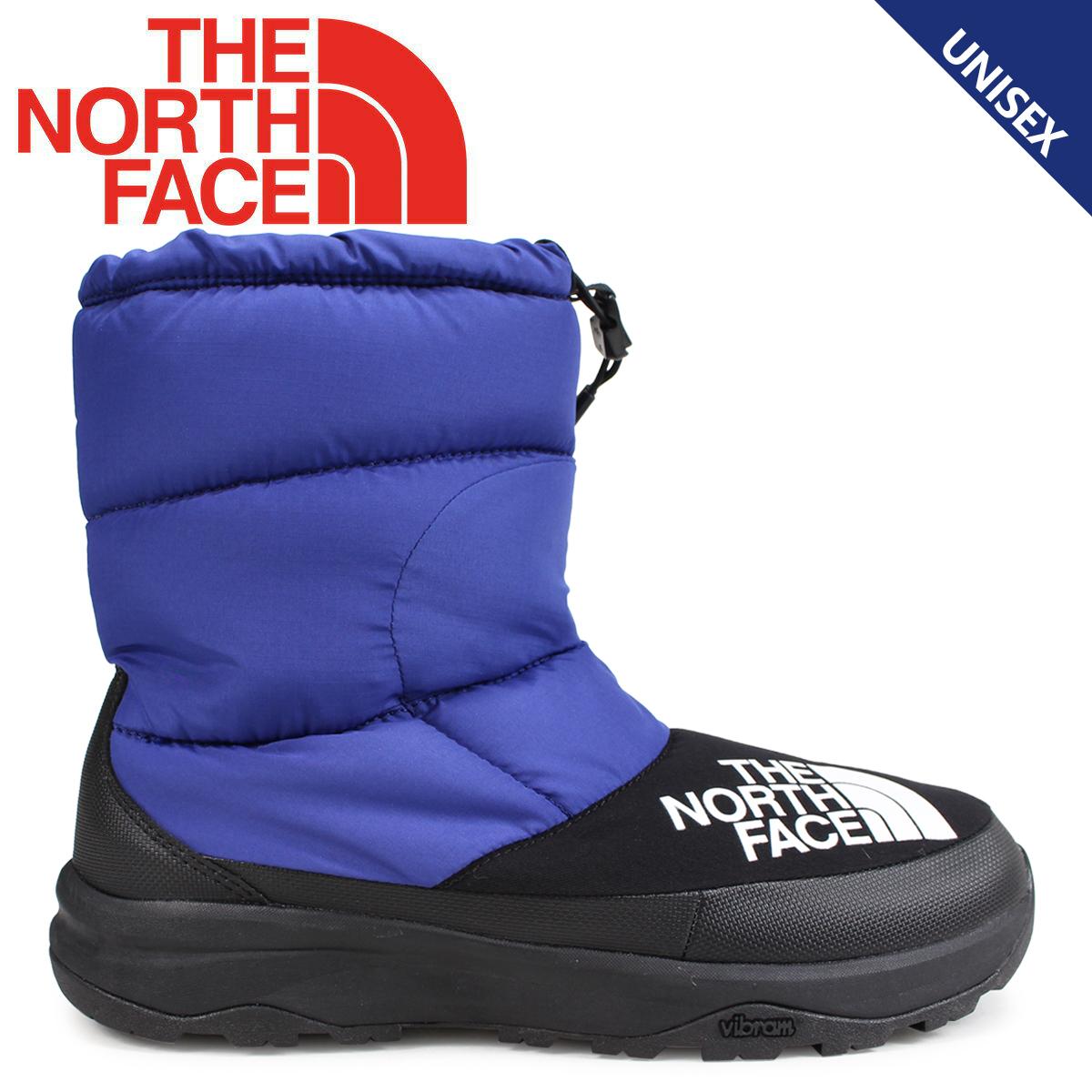 THE NORTH FACE ノースフェイス ヌプシダウンブーティ ブーツ メンズ レディース NUPTSE DOWN BOOTIE ブルー NF51877