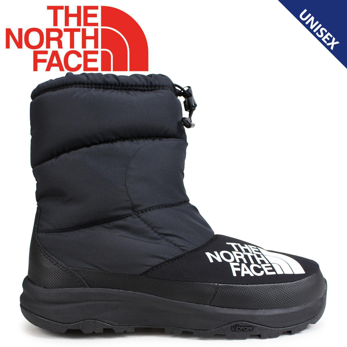 ノースフェイス THE NORTH FACE ヌプシブーティ ブーツ メンズ レディース NUPTSE DOWN BOOTIE ブラック NF51877