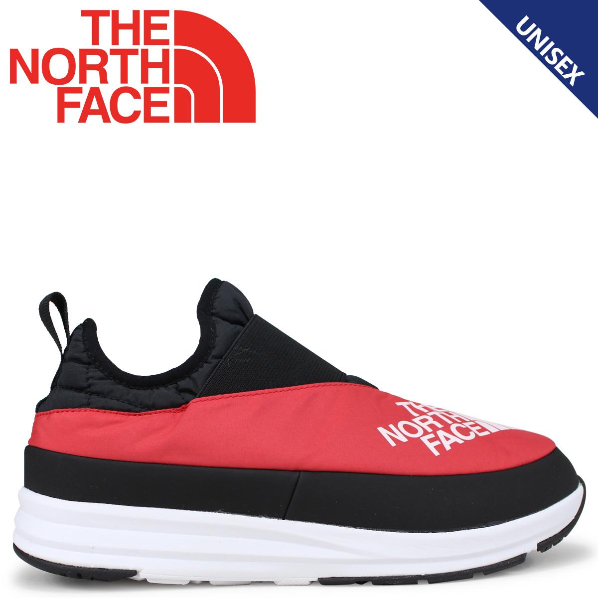 THE NORTH FACE ノースフェイス ヌプシ トランクション スニーカー シューズ メンズ レディース NUPTSE TRACTION LIGHT MOC 3 KIMONO レッド 赤 NF51885