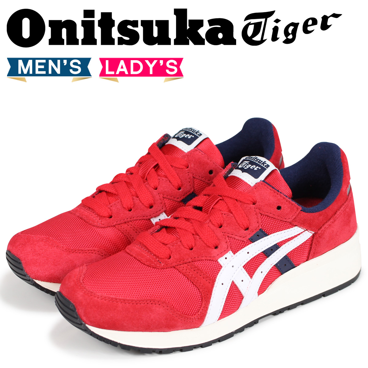 the best attitude 3d4ca a04aa Onitsuka Tiger tiger Alley Onitsuka tiger TIGER ALLY men gap Dis sneakers  1183A029-600 red red