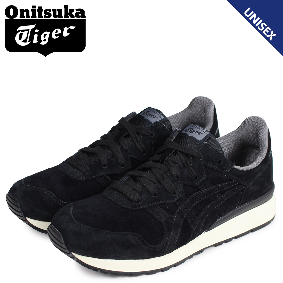 purchase cheap 2ffdf 80c5f Onitsuka Tiger Onitsuka tiger tiger Alley sneakers men gap Dis TIGER ALLY  black black D701L-9090 [the 8/1 additional arrival]