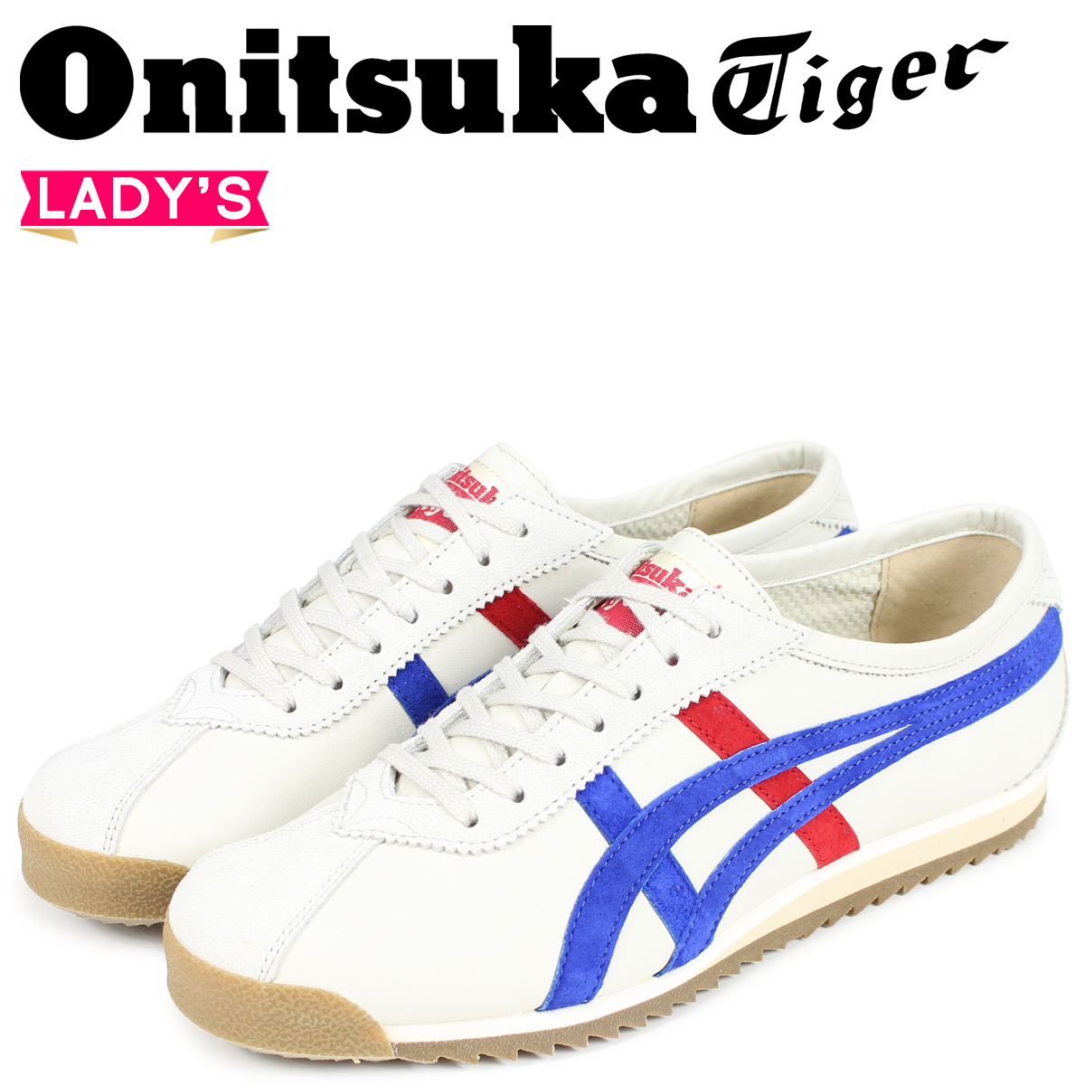 Onitsuka Tiger リンバー 66 オニツカタイガー LIMBER 66 PRESTIGE レディース スニーカー OT6000-9942 オフホワイト