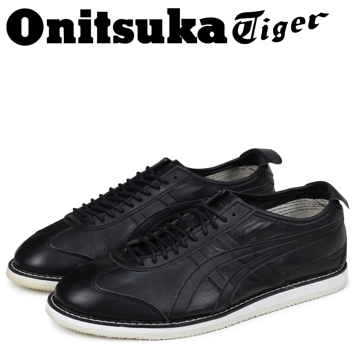 cheap for discount fcf40 0cd31 Onitsuka Tiger Mexico 66 Onitsuka tiger MEXICO 66 DRESS men sneakers  D1E0L-9090 black black