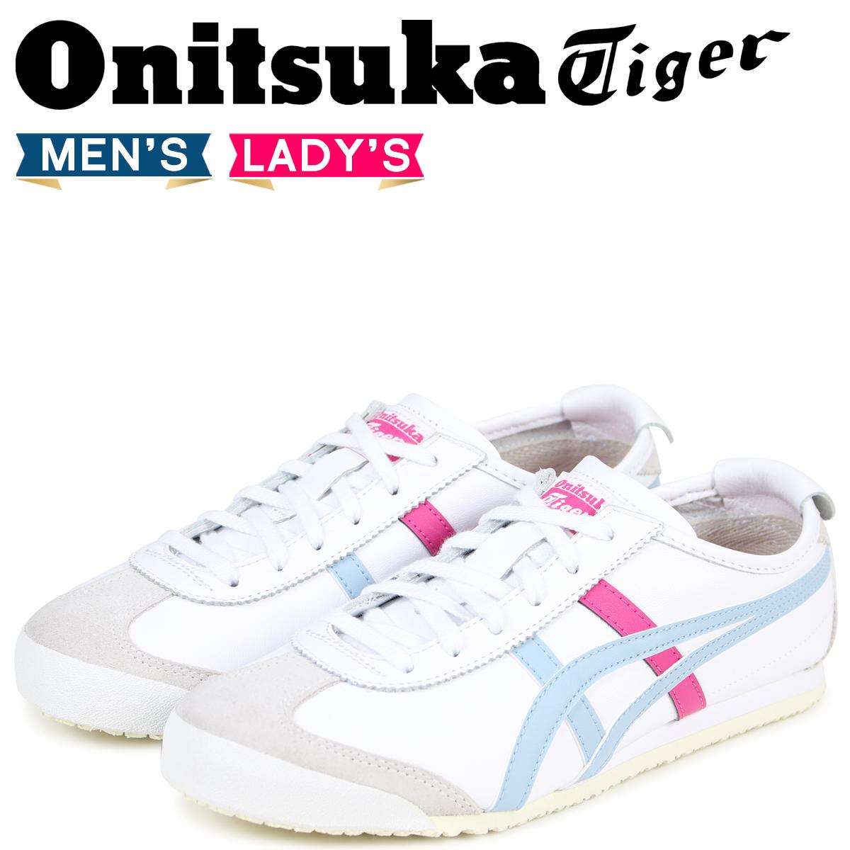 Onitsuka Tiger メキシコ 66 オニツカタイガー MEXICO 66 メンズ レディース スニーカー D4J2L-0140 TH4J2L-0140 ホワイト 【決算セール 返品不可】