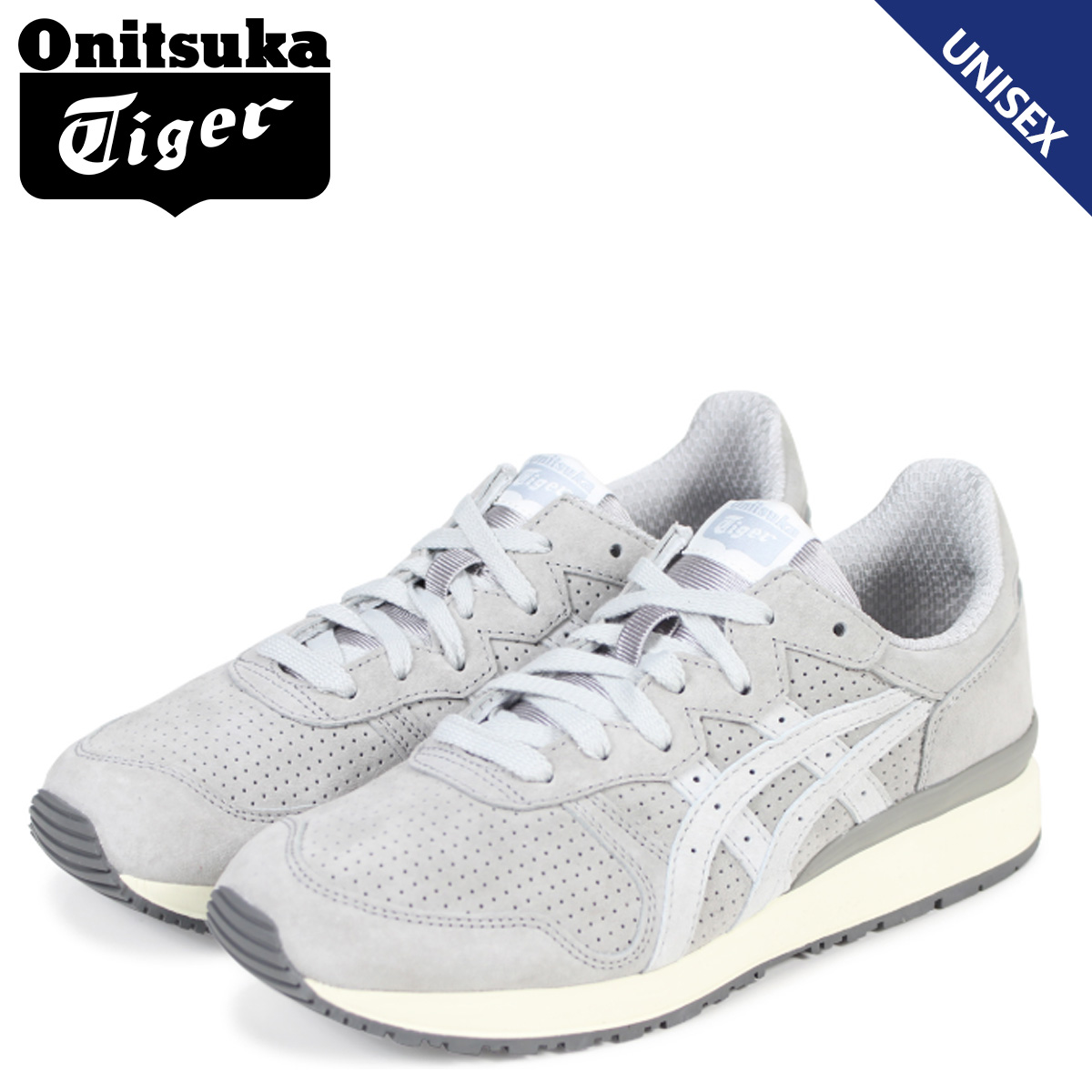 brand new f6602 6c837 Onitsuka Tiger tiger Alley Onitsuka tiger TIGER ALLY men gap Dis sneakers  D701L-9696 TH701L-9696 gray [the 8/1 additional arrival]