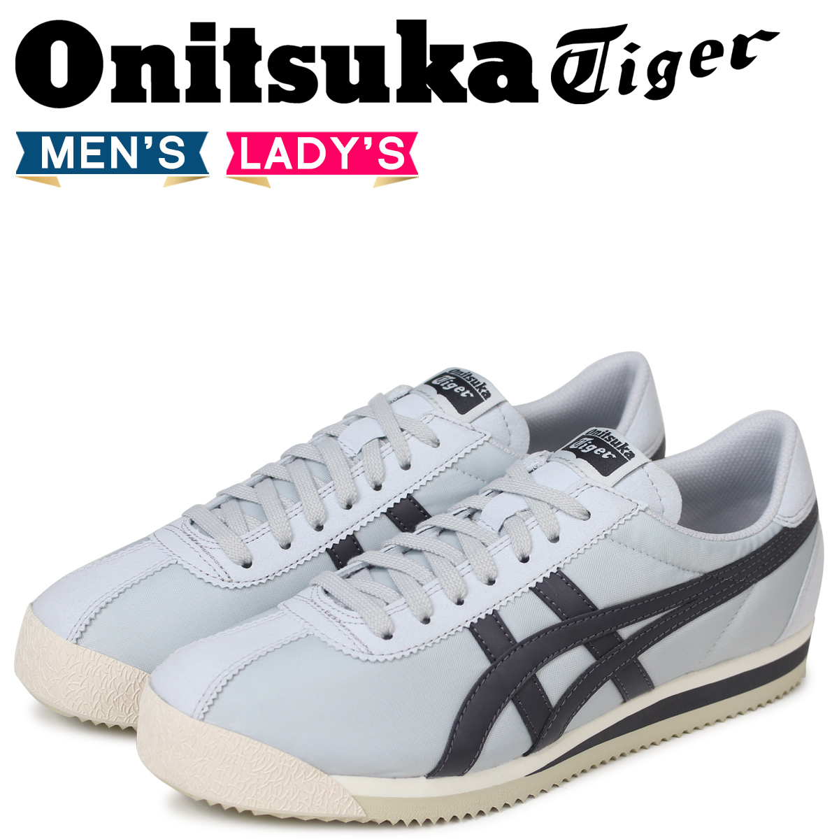 brand new 06738 f4ab5 Onitsuka Tiger tiger Corsair Onitsuka tiger TIGER CORSAIR men gap Dis  sneakers D747N-9695 gray