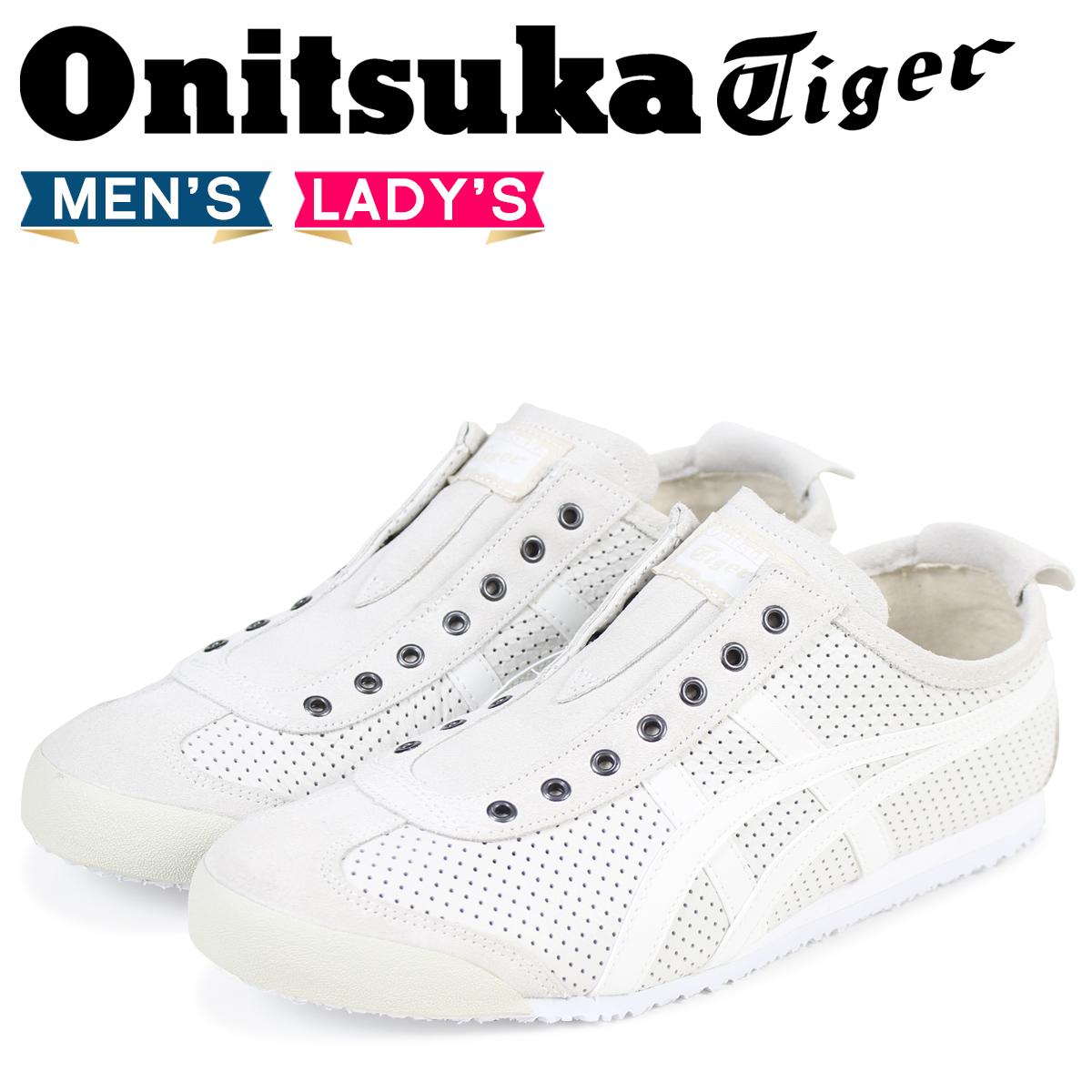 buy popular 2e68c f6cfa Onitsuka Tiger Mexico 66 slip-ons Onitsuka tiger MEXICO 66 SLIP-ON men gap  Dis sneakers D815L-0101 white white
