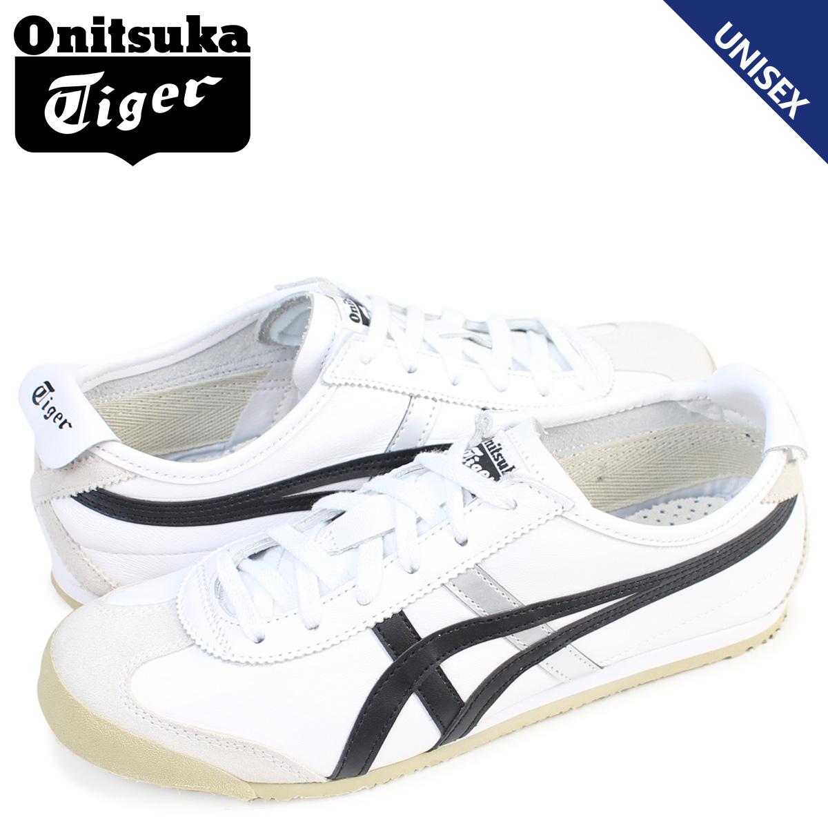 Onitsuka Tiger メキシコ 66 オニツカタイガー MEXICO 66 メンズ レディース スニーカー DL408-0190 靴 ホワイト 白 [3/2 再入荷]