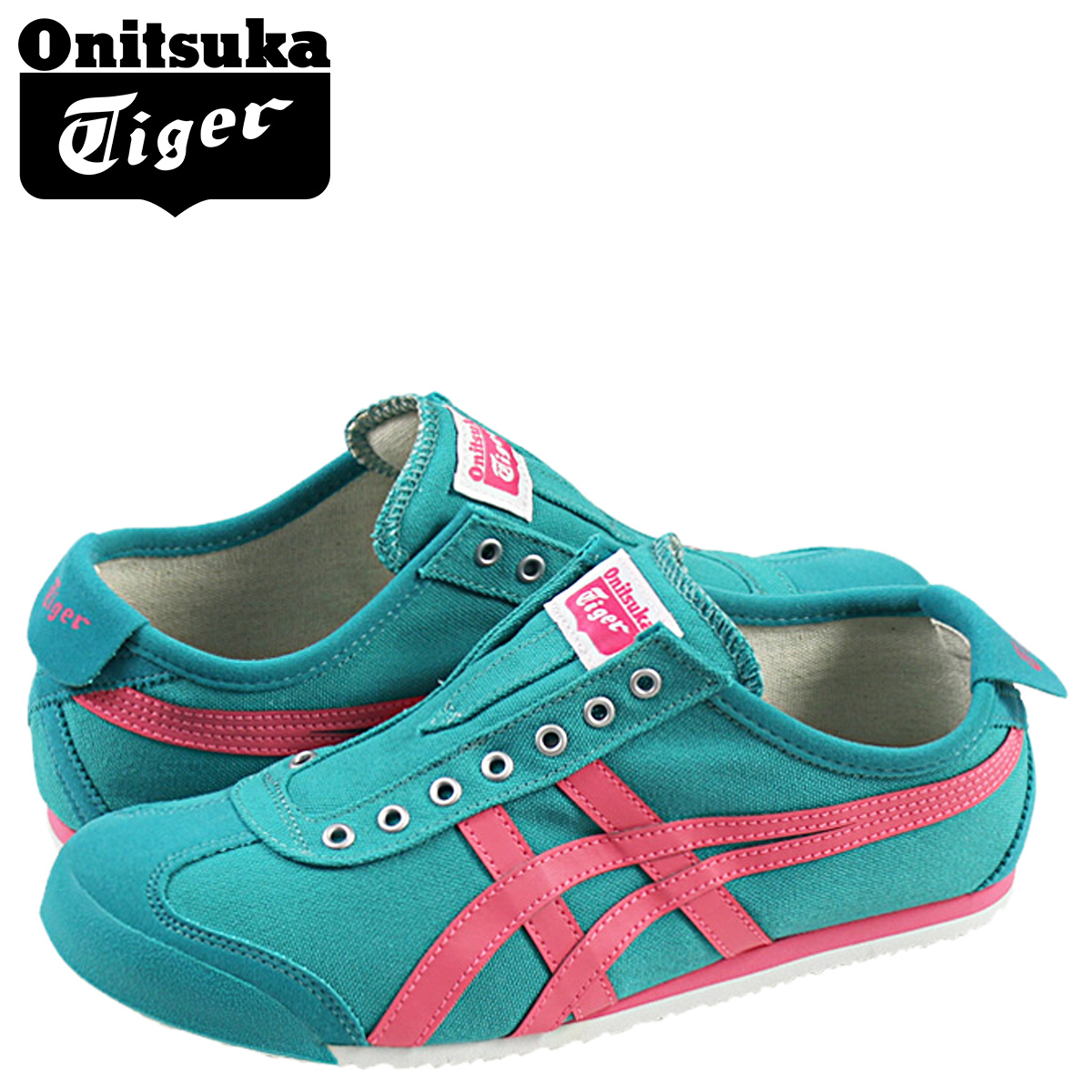 online store 192dd 727ce Onitsuka tiger ASICS Onitsuka Tiger asics Mexico 66 slip-ons sneakers  MEXICO 66 SLIP-ON TH3K0N-7818 men gap Dis shoes green