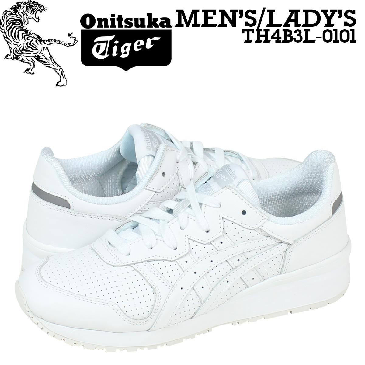7cd475926f54 Onitsuka Tiger ASICs Onitsuka Tiger asics Tiger Alliance sneakers TIGER  ALLIANCE TH4B 3L-0101 men s women s shoes white