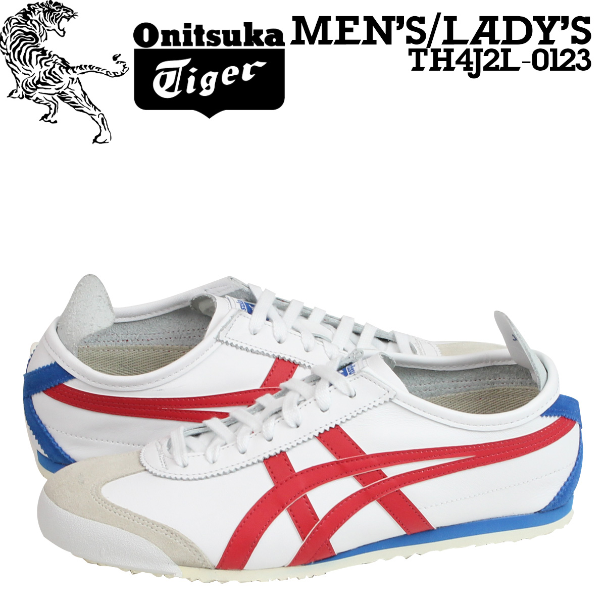 Sugar Online Shop  Onitsuka Tiger ASICs Onitsuka Tiger asics Mexico 66  sneaker MEXICO 66 TH4J 2L-0123 men s women s shoes white  aaab9cdbd148