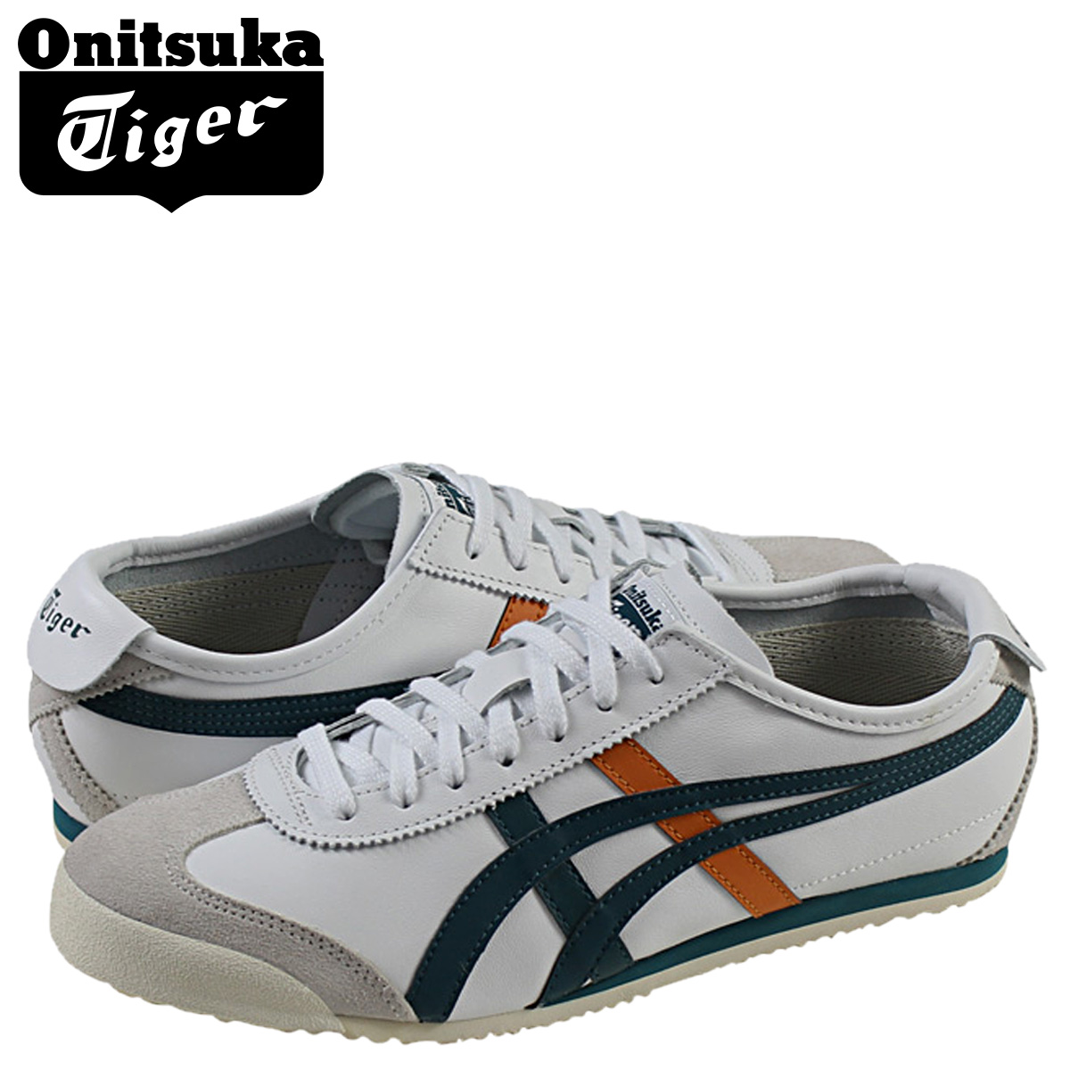 buy popular 466e6 fdaa3 Onitsuka tiger ASICS Onitsuka Tiger asics Mexico 66 sneakers MEXICO 66  TH4J2L-0180 men gap Dis shoes white white