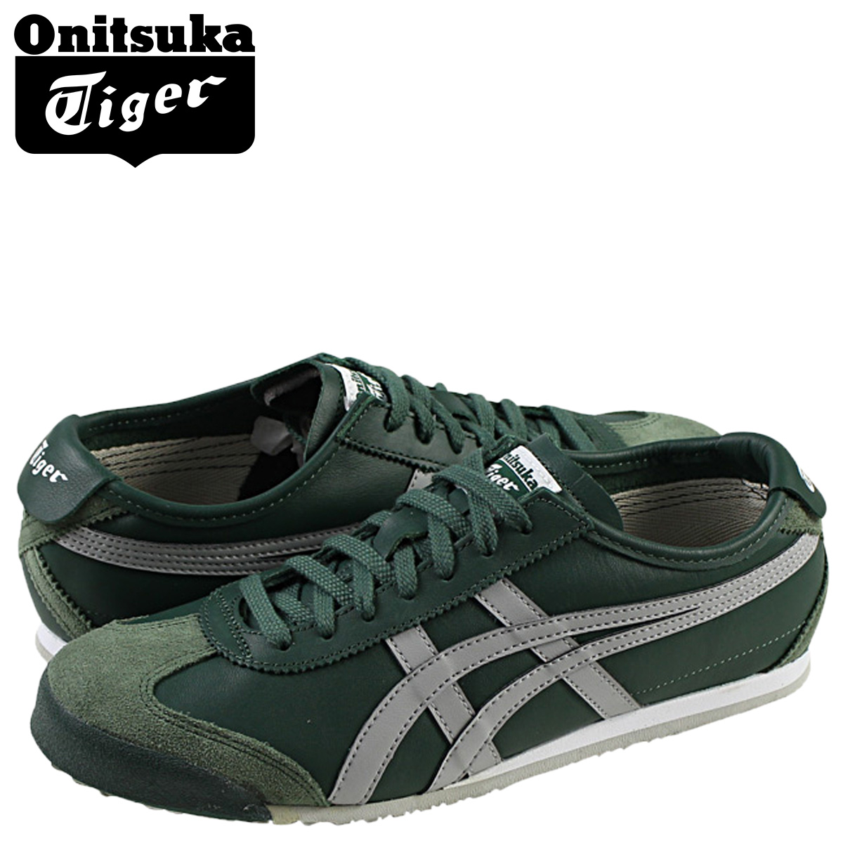 reputable site 5e37c 27d04 Onitsuka tiger ASICS Onitsuka Tiger asics Mexico 66 sneakers MEXICO 66  TH4J2L-8013 men gap Dis shoes green